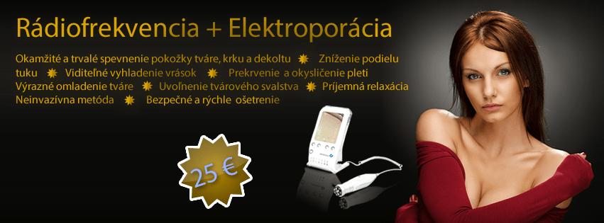 Rádiofrekvencia a elektroporácia :: Kozmetika Oxi Košice